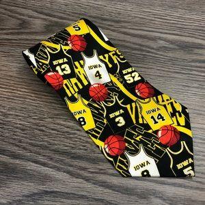 Wear Ties University Of Iowa Basketball Jersey Tie